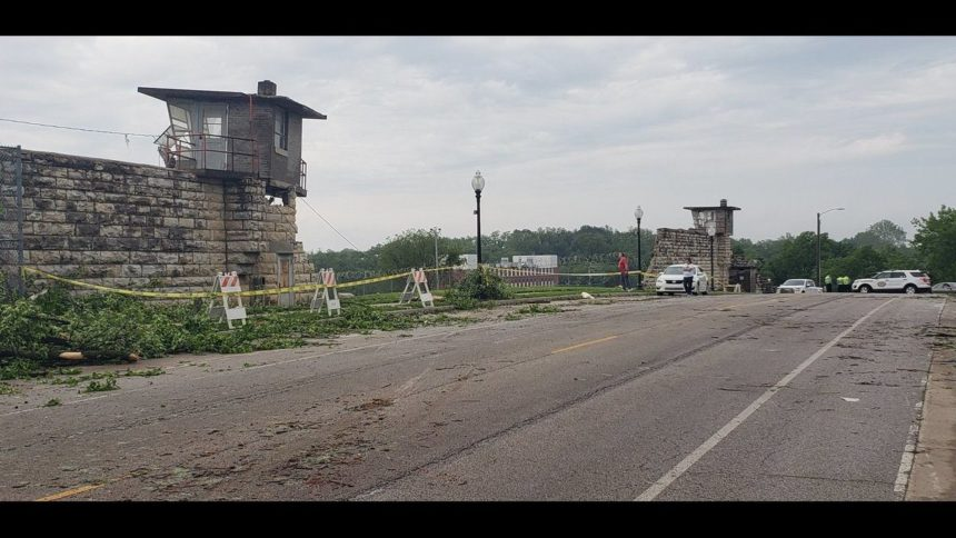 Missouri State Penitentiary Damage