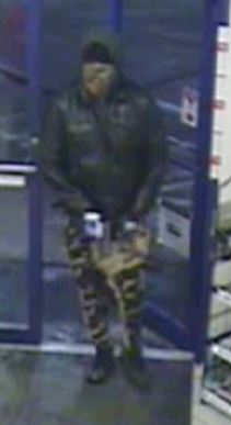 Break Time robbery suspect