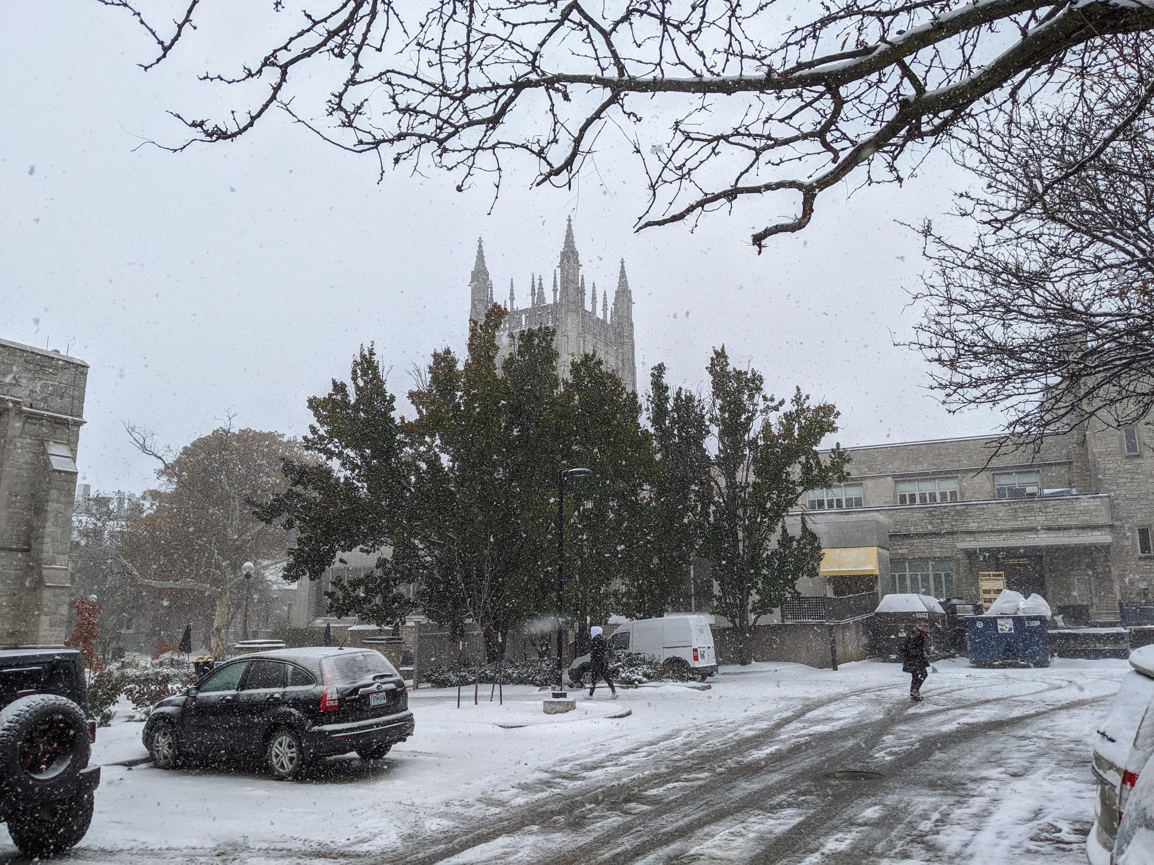 Snow at University of Missouri